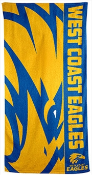 AFL Beach Towel West Coast Eagles