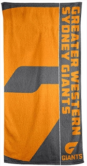 AFL Beach Towel Greater Western Sydney Giants | Apparel