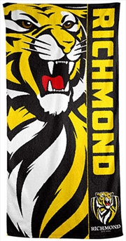 AFL Beach Towel Richmond Tigers