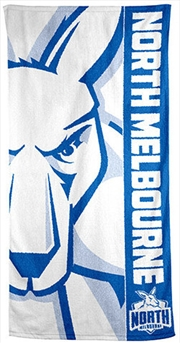 AFL Beach Towel North Melbourne Kangaroos | Apparel