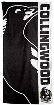 AFL Beach Towel Collingwood Magpies | Apparel