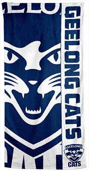 AFL Beach Towel Geelong Cats | Apparel