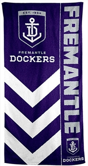 AFL Beach Towel Fremantle Dockers