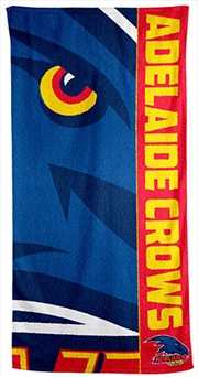 AFL Beach Towel Adelaide Crows | Apparel
