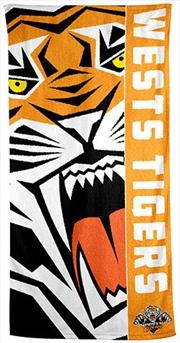 NRL Beach Towel Wests Tigers | Apparel