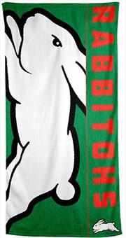 NRL Beach Towel South Sydney Rabbitohs | Apparel