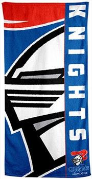 NRL Beach Towel Newcastle Knights