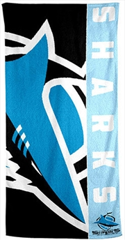 NRL Beach Towel Cronulla-Sutherland Sharks | Apparel
