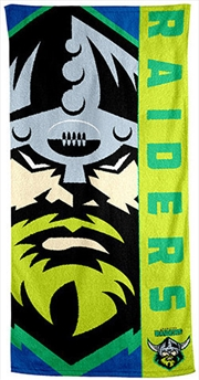 NRL Beach Towel Canberra Raiders