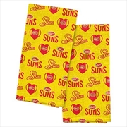 Gold Coast Suns Tea Towel 2 Pack