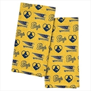 West Coast Eagles Tea Towel 2 Pack