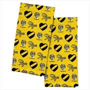 Richmond Tigers Tea Towel 2 Pack