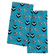 Port Adelaide Power Tea Towel 2 Pack