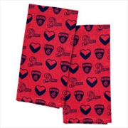Melbourne Demons Tea Towel 2 Pack