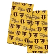 Hawthorn Hawks Tea Towel 2 Pack