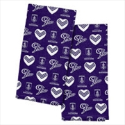 Fremantle Dockers Tea Towel 2 Pack