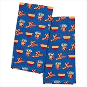 Brisbane Lions Tea Towel 2 Pack