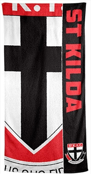 AFL Beach Towel St Kilda Saints | Apparel
