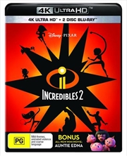 Incredibles 2 - Bonus Disc | UHD