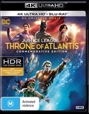 Justice League - Throne Of Atlantis | Blu-ray + UHD