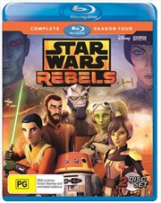 Star Wars Rebels - Season 4 | Blu-ray
