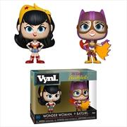 DC Bombshells - Wonder Woman & Batgirl Vynl. | Merchandise