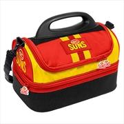 AFL Dome Lunch Cooler Bag Gold Coast Suns