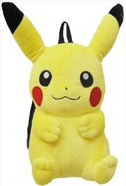 "Pokemon Backpack Plush Pikachu 15"""