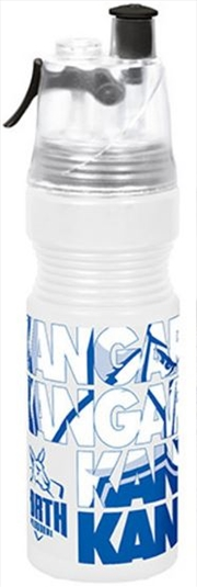 AFL Misting Drink Bottle North Melbourne Kangaroos