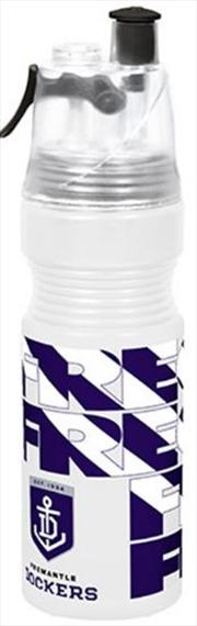AFL Misting Drink Bottle Fremantle Dockers | Merchandise