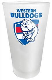 AFL Frosted Glass Western Bulldogs | Merchandise