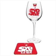 Sydney Swans Wine & Coaster | Merchandise