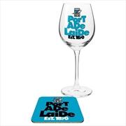 Port Adelaide Power Wine & Coaster | Merchandise