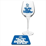 North Melbourne Kangaroos Wine & Coaster | Merchandise
