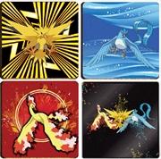 Pokemon Coasters Legendary 4 Pack