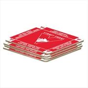 AFL Coaster 4 Pack Sydney Swans | Merchandise