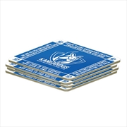 AFL Coaster 4 Pack North Melbourne Kangaroos | Merchandise