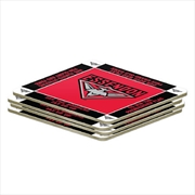 AFL Coaster 4 Pack Essendon Bombers | Merchandise
