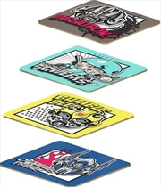 Transformers Coasters Cork Backed Set of 4