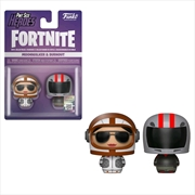 Fortnite - Moonwalker & Burnout Pint Size Hero 2-pack | Merchandise