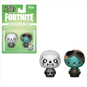 Fortnite - Skull Trooper & Ghoul Trooper Pint Size Hero 2-pack | Merchandise