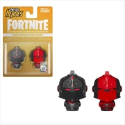 Fortnite - Black Knight & Red Knight Pint Size Hero 2-pack