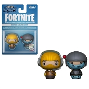 Fortnite - Raptor & Elite Agent Pint Size Hero 2-pack | Merchandise