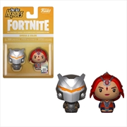 Fortnite - Omega Armour & Valor Pint Size Hero 2-pack | Merchandise