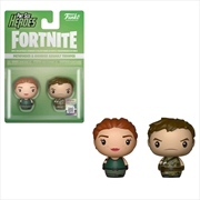 Fortnite - Pathfinder & Highrise Assault Trooper Pint Size Hero 2-pack