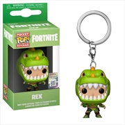 Fortnite - Rex Pocket Pop! Keychain | Pop Vinyl
