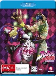 Jojo's Bizarre Adventure - Phantom Blood / Battle Tendency - Set 1 - Eps 1-26