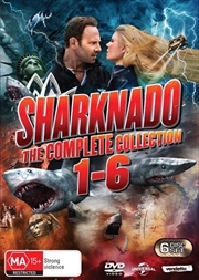 Sharknado 6 Pack - Franchise Pack | DVD