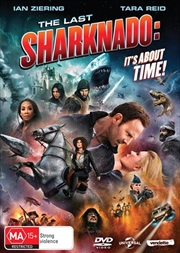 Last Sharknado - It's About Time, The