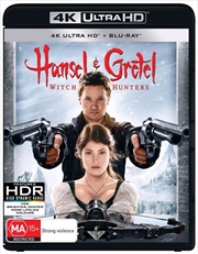 Hansel And Gretel - Witch Hunters | Blu-ray + UHD